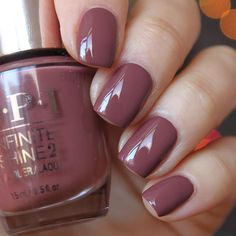 "391 Likes, 3 Comments - Olesya Plotnikova, Eisk (@alesplotnikova) on Instagram: ""OPI Infinite Shine Linger Over Coffee из магазина @pro_opi #opi #opiinfiniteshine ❤️ два слоя лака,…"""