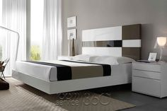 50 Romantic Contemporary Floating Bed Design Ideas - Page 21 of 56 Simple Bed Designs, Best Bed Designs, Double Bed Designs, Bedroom Closet Design, Bedroom Furniture Design, Bed Furniture, Floating Platform Bed, Floating Bed, Platform Beds