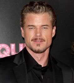 Eric Dane-Ever since someone pointed out that he looked like a cross between Leonardo DiCaprio and Pierce Brosnan-all I can see is Leonardo in him. Lol. Two of my favorite actors combined. Not bad. hehe. ;)