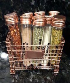 Ideas for Organizing Spice Corner- Ideias para Organizar Cantinho dos Temperos Ideas for Organizing Spice Corner -