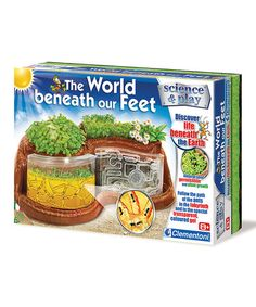 Another great find on #zulily! The World Beneath Our Feet Kit #zulilyfinds