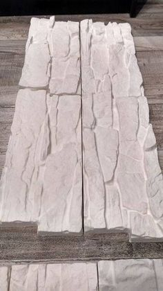 """Abs plastic slate distressed tile mold Plaster concrete 16/""""  x 16/"""" x 1/"""" thick"""