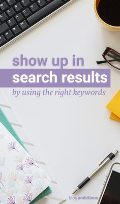 Confused by keywords? Let me show you how simple it is to find keywords for your blog posts.