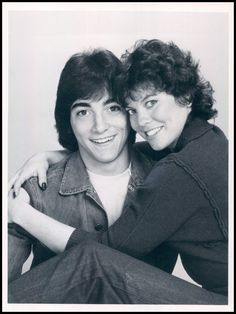 Scott Baio as 'Chachi Arcola' & Erin Moran as 'Joanie Cunningham' in The Happy Days spin-off, Joanie Loves Chachi (1982-83, ABC)