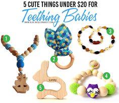 5 Things under $20 for Teething Babies + #BabyOrajel #TeethingProducts #NatalieMadeIt