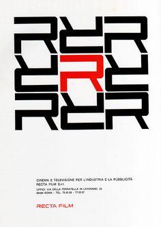 1960s Advertising - Magazine Ad - Recta Film (Italy)