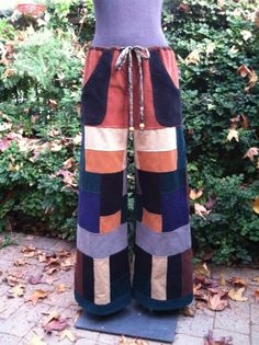 Handmade Hippie Patchwork Corduroy Pants Greatful by frans2hands, $89.00