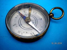 French Pocket Compass