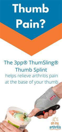 Deluxe Medical Thumb Support Stabilizer Wrist Splint Brace