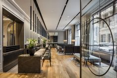 boho-prague-hotel-GCA-architects #hotel #lobby