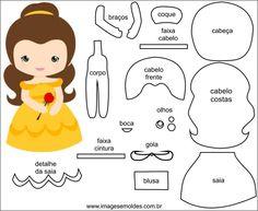 10 Felt Crafts to Make - Felt Doll Patterns, Felt Crafts Patterns, Felt Dolls, Paper Dolls, Felt Templates, Applique Templates, Applique Patterns, Card Templates, Felt Kids