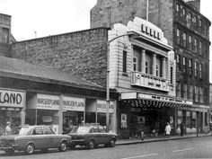 The Odeon cinema South Clerk Street Edinburgh. Another of my favourite haunts. My friends and I not only saw a lot if films there, but as I got older I went to a number of gigs there too; Bowie & Talking Heads among them. Old Town Edinburgh, Edinburgh Scotland, Scotland Travel, Derelict Buildings, Back In The Day, Old Pictures, Glasgow, Street View, Architecture