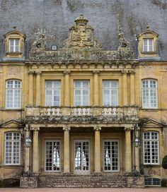 Château (XVIIe-XIXe s.) de Drée, Curbigny (Saône-et-Loire, France)