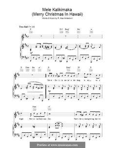 mele kalikimaka - Hawaiian Merry Christmas Song