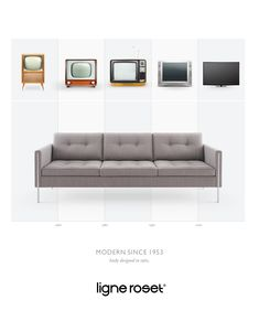 Ligne Roset: Pierre Paulin Modern since 1953, 3 | Ads of the World™