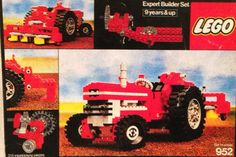 LEGO TECHNIC 962 red truck