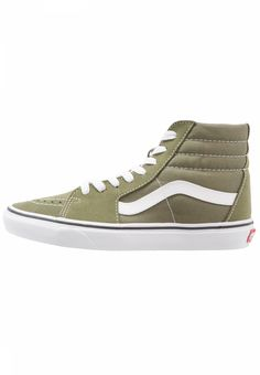 6f2cdf3a59169 Vans. SK8 - High-top trainers - winter moss true white. Care