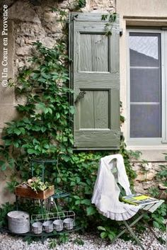Garden retreat from Un Coeur en Provence