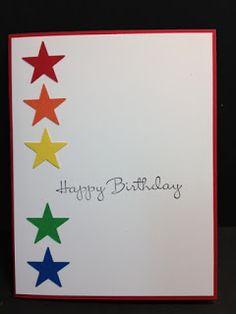 My Creative Corner!: A Punched Stars Birthday