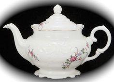 Wawel Rose Garden Tea Pot by aspecialteaplace on Etsy