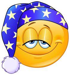 Download Emoticon da boa noite ilustração do vetor. Ilustração de homem - 48245130