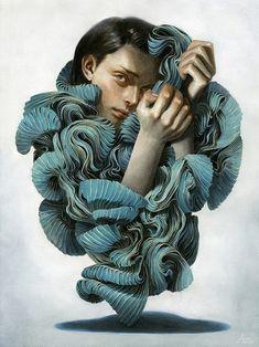 Melancholic Paintings by Tran Nguyen | Inspiration Grid | Design Inspiration