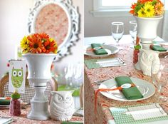 modern baby shower ideas | Modern Owl Baby Shower Theme — Celebrations at Home