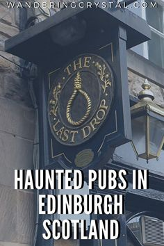 Edinburgh and haunted pubs go hand in hand. See which pubs and other areas all over Edinburgh are filled with ghosts, spooky and scary histories.
