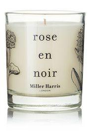 Miller HarrisRose en Noir scented candle, 185g