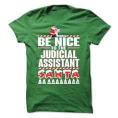 (Tshirt Coupons) Judicial Assistant Xmas Tee [Tshirt Facebook] Hoodies, Funny Tee Shirts