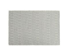 Ryker Rug 160 x 230cm, Grey and White | made.com