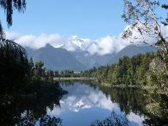 #reflection in#lakeMatheson of #MountCook #NewZealand #SouthIsland and its a beautiful walk around the lake too
