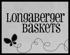 -Longaberger Baskets.