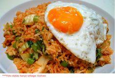 Nasi goreng mantab di #BnDSEGI8 01 Maret 2015