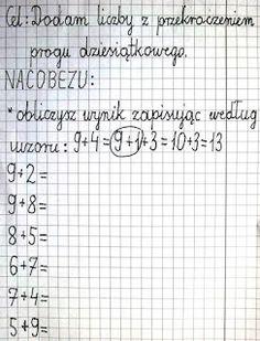Aleksandra Kaczmarek's media content and analytics Learn Polish, Math Equations, Education, Learning, Montessori, Content, Diy, Therapy, Math Resources