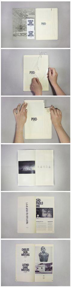 PIXO FANZINE 由你撕開的書本設計