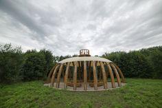 fotozáznamy - realizace Sluňakov - Lesní chrám