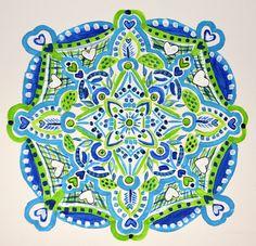 Mandala Art Print By Crystal Simpelo