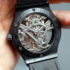 The Skull Mania - 30 minutes on the wrist with the HUBLOT Classic Fusion Tourbillon Black Skeleton Skull