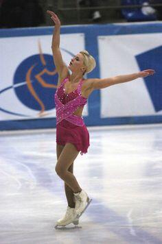 Figure Skating Dress  -Pink Figure Skating / Ice Skating dress inspiration for Sk8 Gr8 Designs. Viktoria Heglesson Sweden