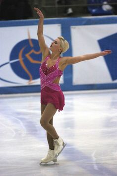 Figure Skating Dress  -Pink Figure Skating / Ice Skating dress inspiration for Sk8 Gr8 Designs.