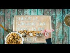 Strudel roulé aux noix et pommes - YouTube