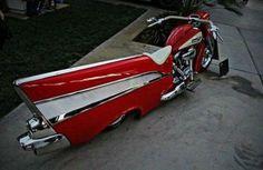 Mean ass bel air replica bike Funny Baby Images, Funny Photos, Funny Pix, Funny Cars, Funny Memes, Chevrolet Bel Air, Weird Cars, Cool Cars, Strange Cars