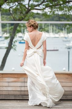Check out this beautiful shoot from Elizabeth Anne Designs and Dulce Dreams Events, photographed by Charlie Juliet at the beautiful waterfront Harbor Club at Prime! Wedding Blog, Wedding Day, Coastal Wedding Inspiration, Summer Fresh, Nautical Wedding, Elizabeth Anne, White Dress, Bride, Elegant