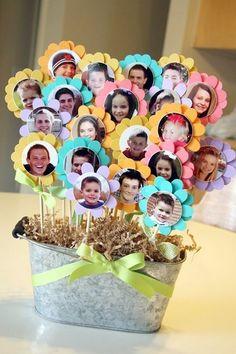 Bonito regalo con fotos familiares para hacer con tu peque