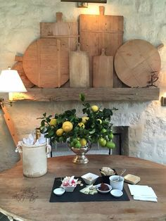 Patina Farm in Ojai... just one photos from an entire post by French Country Cottage...