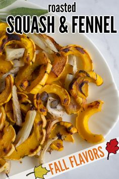 This recipe Roasted Delicata Squash and Fennel is quick and easy to prepare, since the squash doesn't have to be peeled. The delicata squash is roasted with fennel and maple syrup for a sweet and savory side dish for fall meals. Thanksgiving Food Crafts, Family Thanksgiving, Thanksgiving Side Dishes, Roasted Squash, Top Blogs, Menu Planning, Fennel, Fall Recipes, I Am Awesome