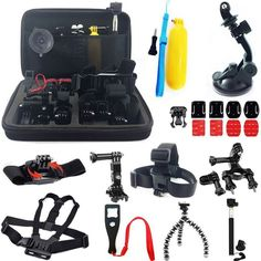 Practical Sports Photography Set Kit Tools for GOPRO Camera Tripod Offers High Quality Practical Sports Photography Set Kit Tools for GOPRO Camera Tripod, We have more styles for Camera Accessories Gopro Camera, Camera Tripod, Camera Case, Video Camera, Instax Mini Camera, Fuji Instax Mini, Gopro Accessories, Photo Accessories, Gopro Kamera