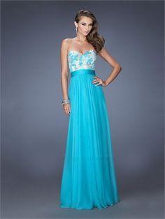 Gorgeous A-line Sweetheart Lace Chiffon Prom Dress PD1390 www.homecomingstore.com $198.0000