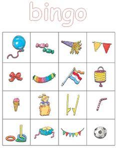 Kleuterjuf in een kleuterklas: Kleuter Bingo